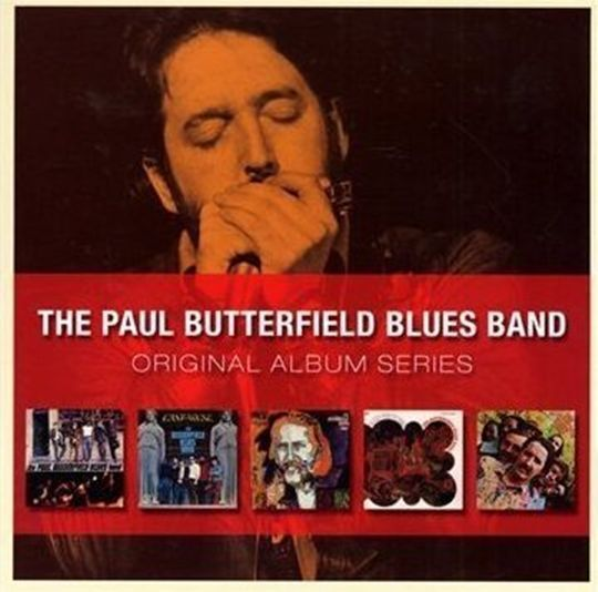 PAUL BUTTERFIELD BLUES BAND 5CD NEW S.T/East West/Resurrection/In My Own/Keep On