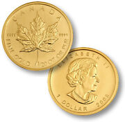 Maple Leaf Gold Coin 1/20