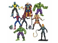 Wanted - Marvel and DC Superheroes - Action Figures - Batman, Superman, Cpt America, Iron Man etc