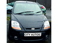 CHEVROLET MATIZ 2010 47,400 MILES 1.0 PETROL MANUAL 5 DOOR HATCHBACK BLACK