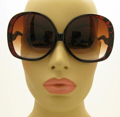 Super Oversized HUGE XXXL Big Round Oval Vintage Retro Style Women's (Big Round Retro Sunglasses)