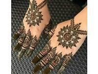 Hina or mehndi artist