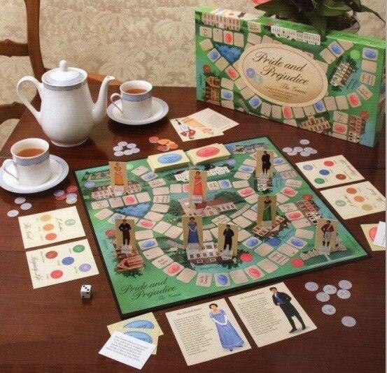 NEW Jane Austen Pride and Prejudice Board Game