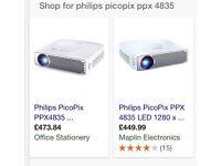 **NEW** Philips & Epson Projectors