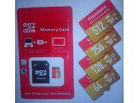 256GB & 512GB Flash memory card