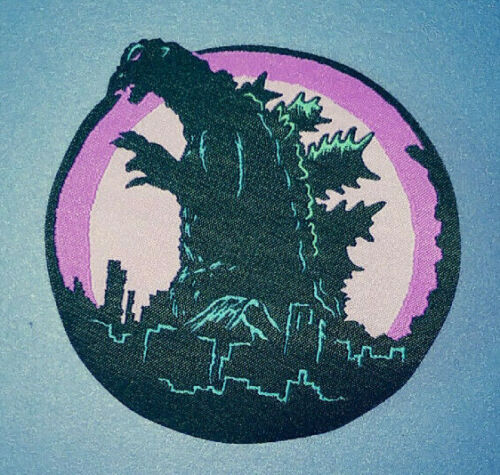 GODZILLA PATCH - Gojira, Kaiju movie monster - woven iron-on king of monsters