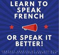 French Tutor -- 15$/hour (Can teach in-person or by Skype)