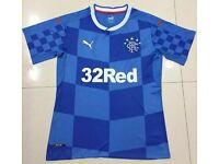 2016-17 Glasgow Rangers home football soccer jersey shirt
