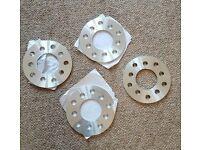 4 Audi VW 5mm wheel spacers