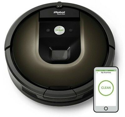 iRobot Roomba 980 WIFI Vacuum Robot with Accessories in the Original BoX
