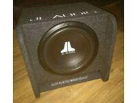 "JL Audio CP112-W0v3 12"" 600 watts car audio subwoofer boxed"