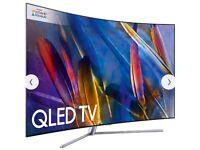 "Samsung TV QE49Q7F 49"" model 4K Ultra HD Smart QLED TV"