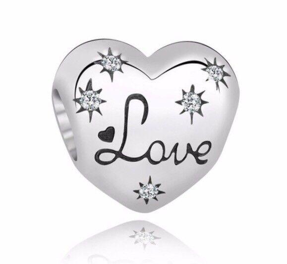love heart charm in pandora box in hull east yorkshire gumtree 80s Love love heart charm in pandora box