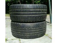 2 x Kumho Ecsta 235 35 19 Tyres - BMW, Mercedes, Audi etc