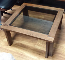Wooden coffee table NEXT