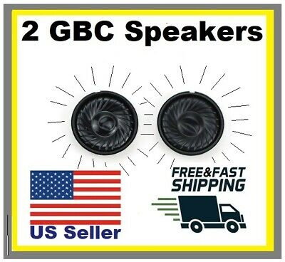 2 NEW GBC SPEAKERS Nintendo Game Boy Color replacement FIX SOUND BEST QUALITY