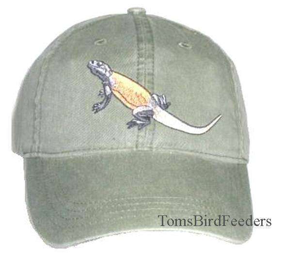 Chuckwalla Embroidered Cotton Cap NEW Lizard Hat