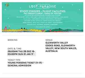 LOST PARADISE TICKET - 11-17 YEARS Sydney City Inner Sydney Preview