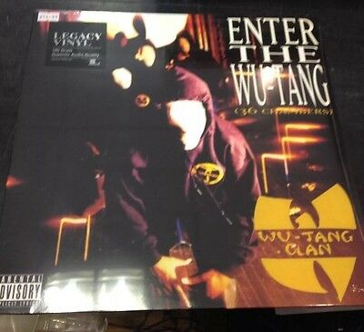 WU-TANG CLAN - ENTER THE WU-TANG (36 CHAMBERS) VINYL LP NEW & SEALED LEGACY RECS