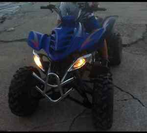 Blue 2006 150 CC ATV