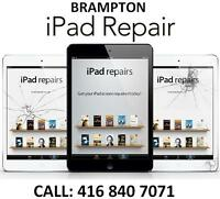iPAD REPAIR CENTER IN IN BRAMPTON - ALL MODELS SUPPORTED