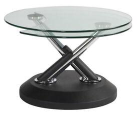 Mid century style Modern swivel coffee table
