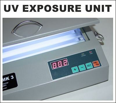 UV Exposure Unit, UV Light Box for Hot Foil, Pad Printing & Glass Etching