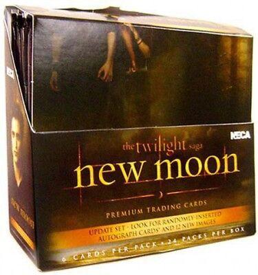 NECA Twilight New Moon Update Edition Trading Card Box [24 Packs] (Twilight Trading Cards)