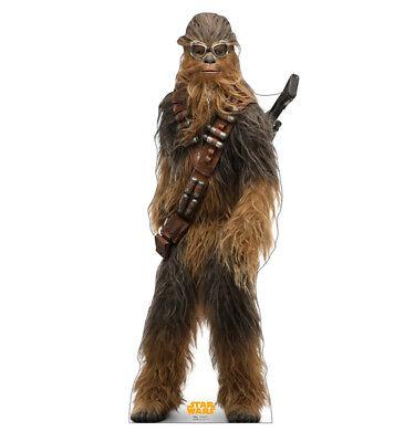 SOLO - STAR WARS MOVIE - CHEWBACCA - LIFE SIZE STANDUP/CUTOUT BRAND NEW - 2654 (Life Size Chewbacca)