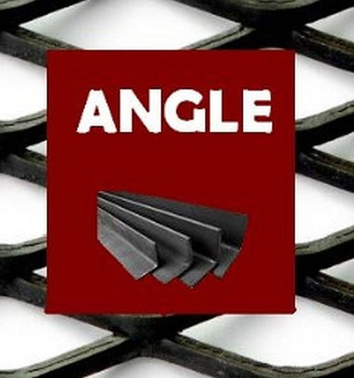 """HOT ROLLED STEEL ANGLE 2"""" x 2"""" x 1/4"""" x 4"""