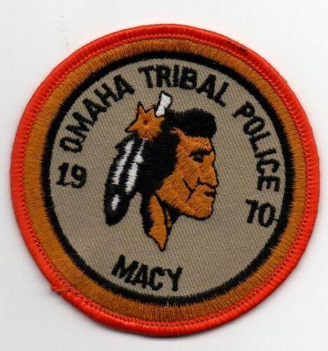NEBRASKA NE OMAHA TRIBAL POLICE NICE PATCH SHERIFF
