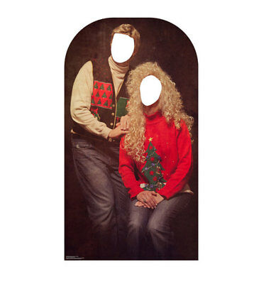 Stand Up Photo Cutouts (UGLY CHRISTMAS SWEATER PARTY PHOTO OP LIFESIZE STANDIN STANDUP STANDEE CUTOUT)