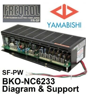 Freqrol Mazak Yamabishi Sf-pw Mitsubishi Ac Spindle Drive Power Supply Diagram