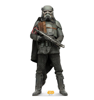 SOLO - STAR WARS MOVIE - MUDTROOPER - LIFE SIZE STANDUP/CUTOUT BRAND NEW - 2661