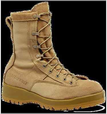 Belleville 790 A Gore-Tex Cold Weather Waterproof Tan Combat Boots 11W 11 Wide