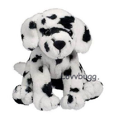"Lovvbugg Dalmatian Puppy 5"" Pet for 18"" American Girl Doll Accessory"