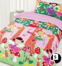 Happy Kids Single Quilt Cover Set - Fairy Tree Camden South Camden Area Preview