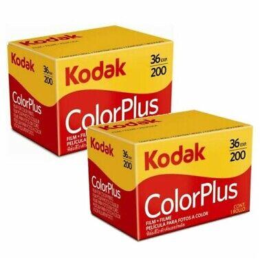 2 x Kodak Colorplus 200 35mm 36Exp - CHEAP Colour Print Film