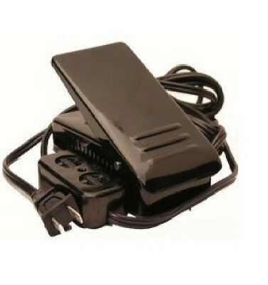 UNIVERSAL HOME SEWING MACHINE FOOT CONTROL PEDAL #FC-143 W/ LIGHT & MOTOR BLOCK