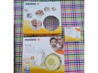 Medela Swing Breast Pump with bottles