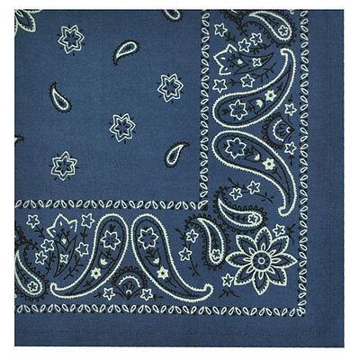 Blue Bandana Cotton Napkin
