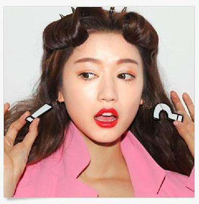 1 Pair Funny Lady Asymmetric Acrylic Question Exclamation Mark Earrings - Exclamation Question Mark