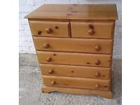 Looking for a pine chest draws or bed side table