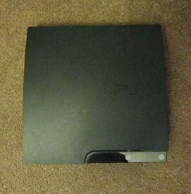 Ps3 (playstation 3) slim console with bundle of games, controller and all leads