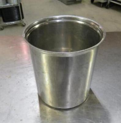 Stainless Steel 2.7 Qt Pot Crock Insert Steam Table Quart Pan Salad Bar