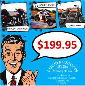 Ready to Ride? - beat the rush, $199.95 with pickup/delivery