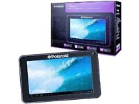 "POLAROID 7"" Android Tablet Wi-Fi PC with512MB RAM- New not refurb"