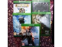 5 XBOX ONE games for £15