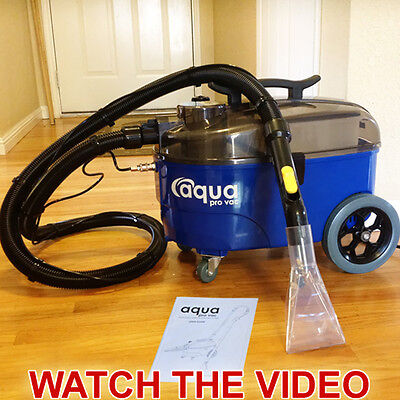 Carpet Cleaning Machine Spotter Extractor - Auto Detailing - Aqua Pro Vac
