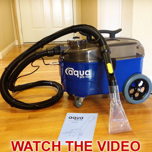 Photo Carpet Cleaning Machine, Spotter, Extractor - Auto Detailing - Aqua Pro Vac